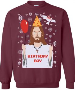 Funny Christmas Jesus Birtday Boy Sweatshirt