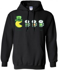 Irish Pacman Eat Beer Hoodie Amazon Best Seller