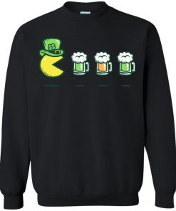 Irish Pacman Eat Beer Sweatshirt Amazon Best Seller