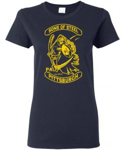 Son Of Steel Pittsburgh Steeler Women's T-Shirt