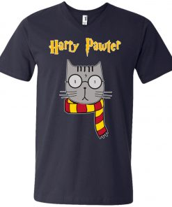 Muggle Cat Harry Potter V-Neck T-Shirt