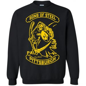 Son Of Steel Pittsburgh Steeler Sweatshirt