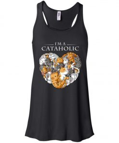 I Am A Cataholic A Cat Lover Women's Tank Top