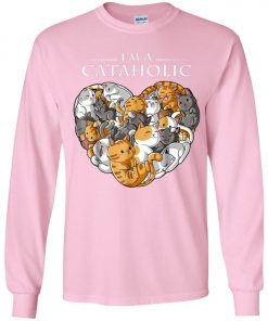I Am A Cataholic A Cat Lover Youth Sweatshirt