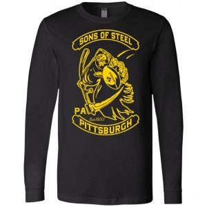 Son Of Steel Pittsburgh Steeler Long Sleeve