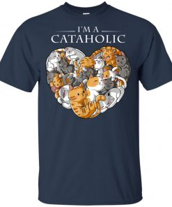 I Am A Cataholic A Cat Lover Youth T-Shirt