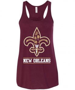 New Orleans Saints Mardi Gras Women's Tank Top