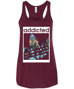 Fortnite Addicted With Adidas Logo Women's Tank Top