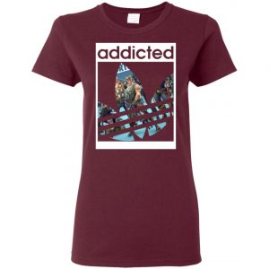 Fortnite Addicted With Adidas Logo Women's T-Shirt