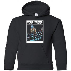 Fortnite Addicted With Adidas Logo Youth Hoodie