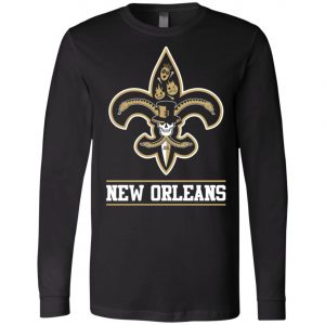 New Orleans Saints Mardi Gras Long Sleeve