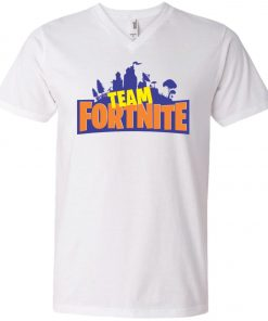 Team Fortnite Batle Royale V-Neck T-Shirt