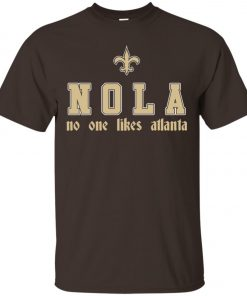 Saitns NOLA No One Like Atlanta Men's T-Shirt