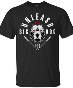 WWE Unleash The Big Dog Roman Reigns Men's T-Shirt