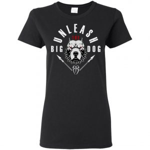 WWE Unleash The Big Dog Roman Reigns Women's T-Shirt