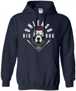WWE Unleash The Big Dog Roman Reigns Hoodie