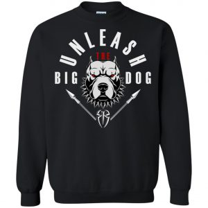 WWE Unleash The Big Dog Roman Reigns Sweatshirt