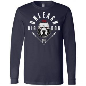 WWE Unleash The Big Dog Roman Reigns Long Sleeve