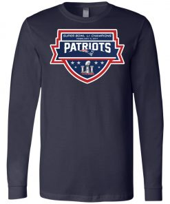 Patriots New England Superbowl LI Champions Long Sleeve