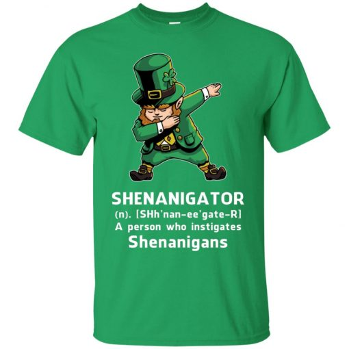 Shenanigator Leprechaun Irish Dabbing Men's T-Shirt
