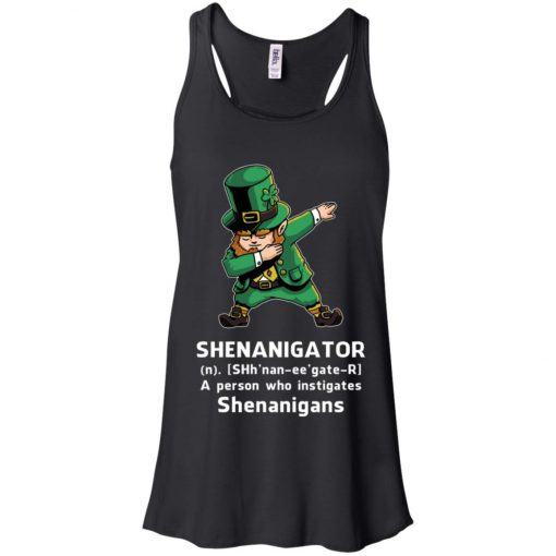 Shenanigator Leprechaun Irish Dabbing Women's Tank Top