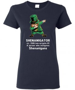 Shenanigator Leprechaun Irish Dabbing Women's T-Shirt