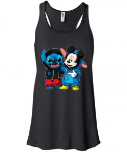 Stitch and Mickey Change Women's Tank Top