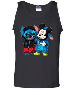 Stitch and Mickey Change Men's Tank Top