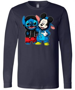 Stitch and Mickey Change Long Sleeve