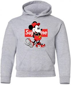 Supreme x Mickey Mouse Youth Hoodie