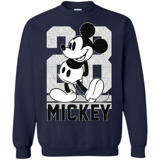 28 Birthday Mickey Mouse Sweatshirt