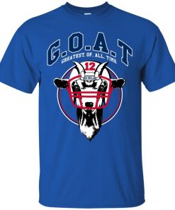 GOAT 12 Patriots Tom Brady Men's T-Shirt