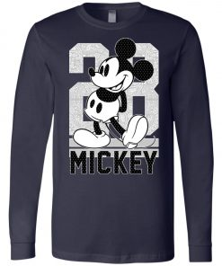 28 Birthday Mickey Mouse Long Sleeve