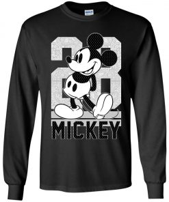 28 Birthday Mickey Mouse Youth Sweatshirt