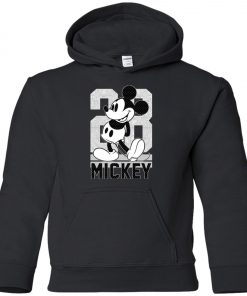 28 Birthday Mickey Mouse Youth Hoodie