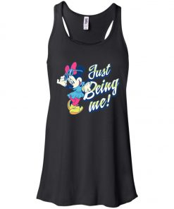 Minnie Mouse Just Being Me Women's Tank Top