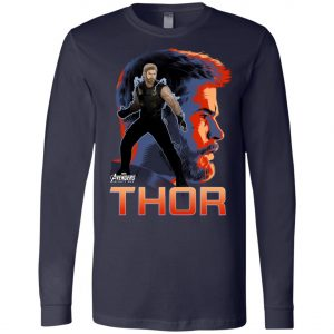 Avenger Thor Profile Long Sleeve