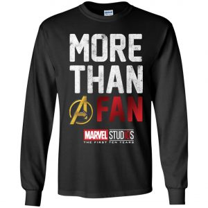 More Than Avenger Fan Marvel 10 Years Youth Sweatshirt