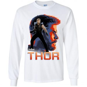 Avenger Thor Profile Youth Sweatshirt