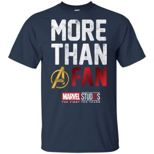 More Than Avenger Fan Marvel 10 Years Youth T-Shirt