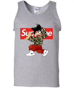 Goku x Supreme Bape Men's Tank Top