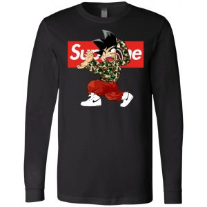 Goku x Supreme Bape Long Sleeve