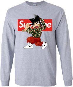 Goku x Supreme Bape Youth Sweatshirt