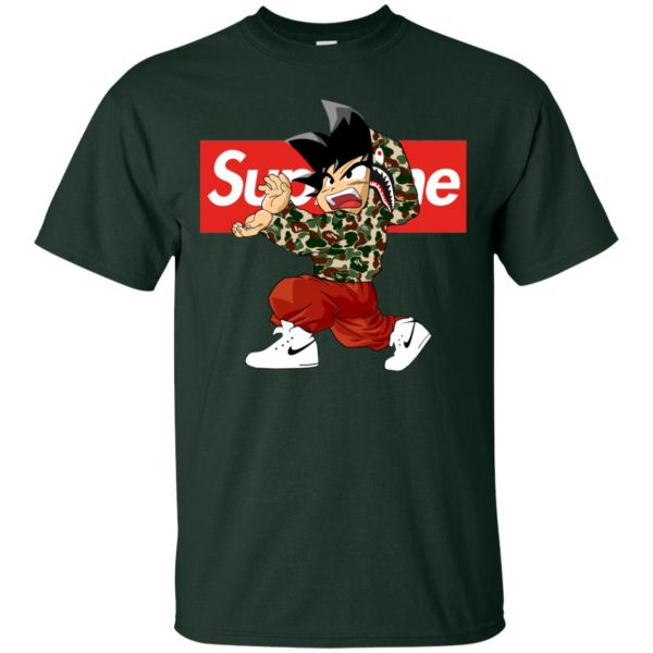 Goku x Supreme Bape Men's T-Shirt
