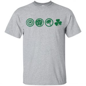 Lucky Charm Irish Marvel Team Youth T-Shirt