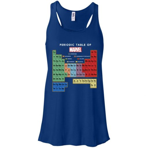 Periodic Table Of Marvel Women's Tank Top