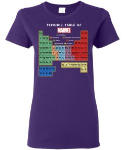 Periodic Table Of Marvel Women's T-Shirt