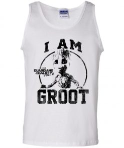 I Am Groot Guardians Of The Galaxy Men's Tank Top
