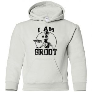 I Am Groot Guardians Of The Galaxy Youth Hoodie