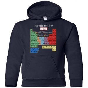 Periodic Table Of Marvel Youth Hoodie